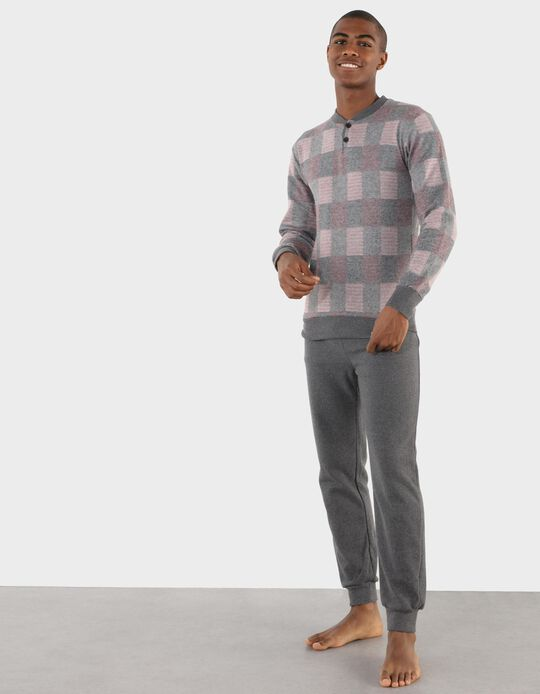 Pijama aos Quadrados