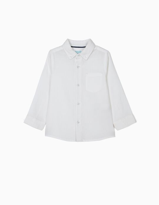 Shirt for Baby Boys 'B&S', White