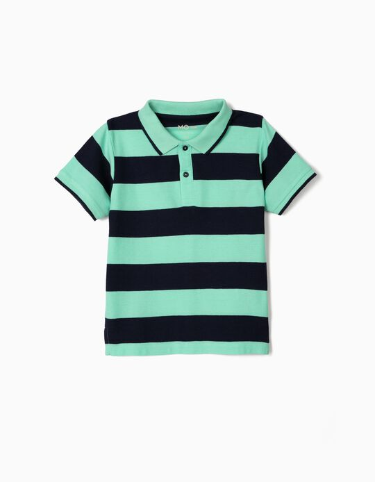 Striped Polo Shirt, for Boys