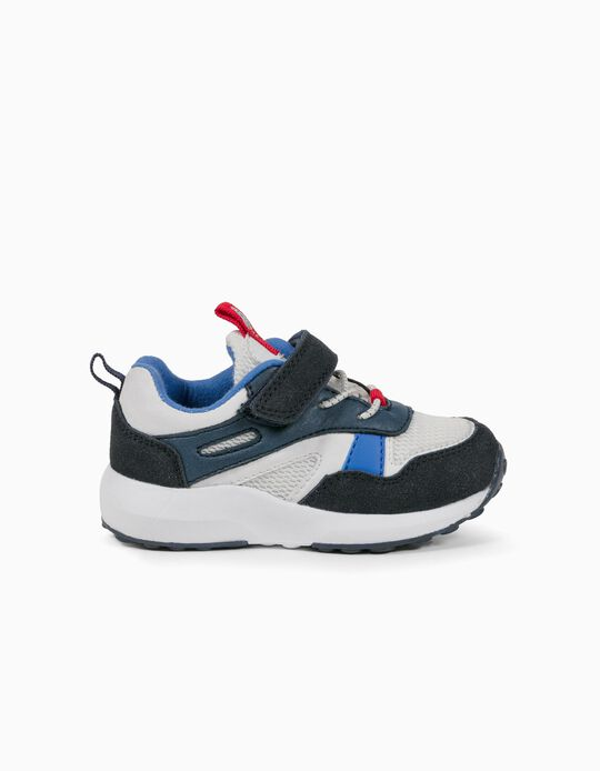 Trainers for Baby Boys 'ZY Superlight Runner', Blue/White/Red
