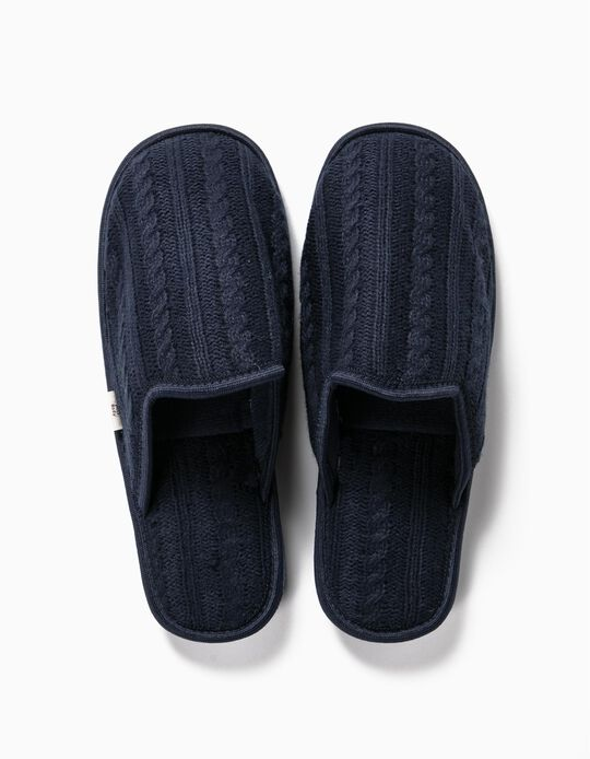 Knitted Bedroom Slippers