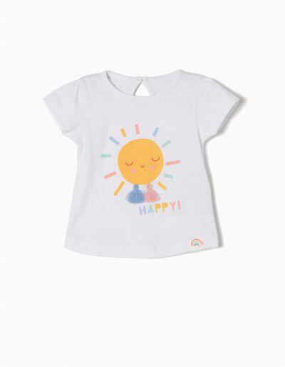 T-shirt Manga Curta Happy