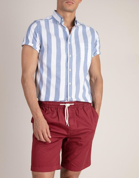 Striped Shirt, Slim Fit