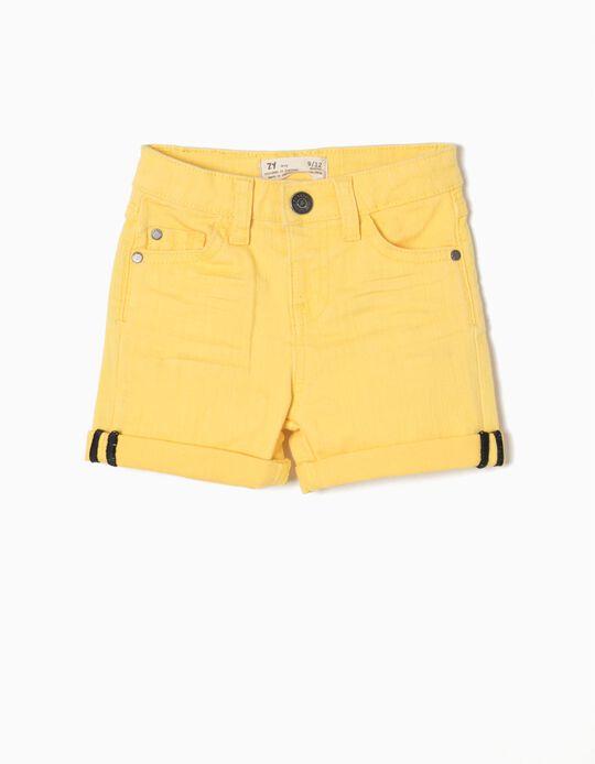 Calçoes de Ganga ZY Amarelo