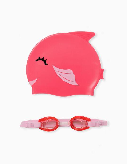 Swim Cap and Goggles, Kids