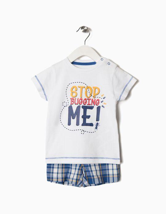 Pijama T-shirt e Calções