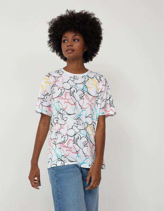 Colourful Disney T-shirt, Women, White