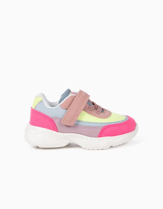 Chunky trainers for Baby Girls 'Superlight Runner', Multicoloured