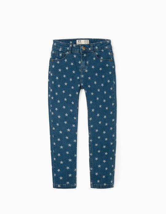Jeans for Girls 'Stars', Blue