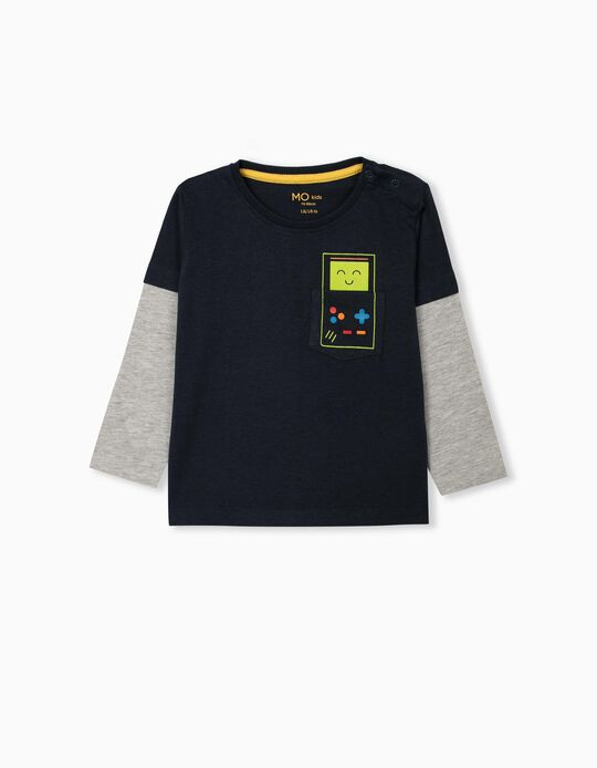 Long Sleeve Top, for Baby Boys