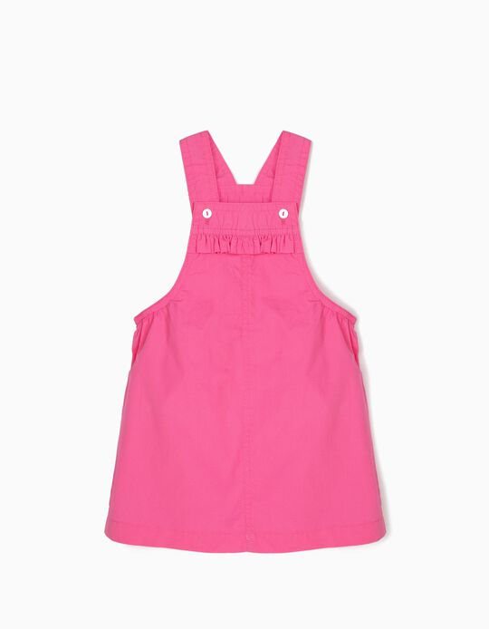 Pinafore Dress for Baby Girls, Pink