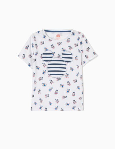 T-shirt Mickey The Captain