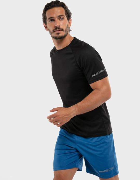 T-shirt in breathable techno fabric