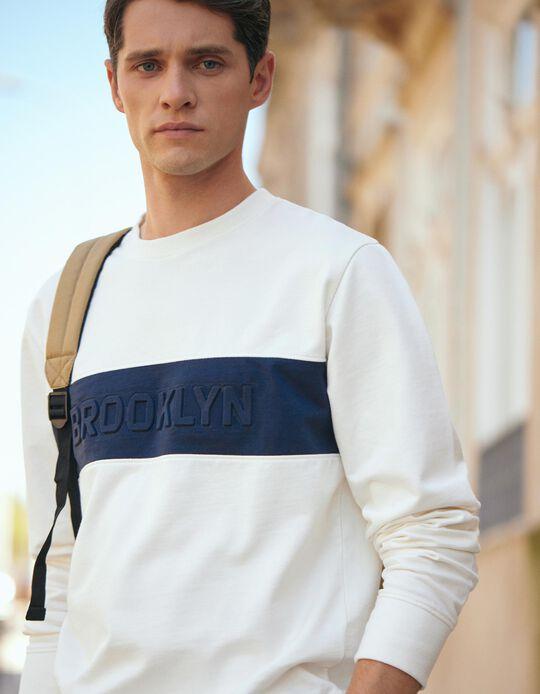 Sweatshirt for Men, White