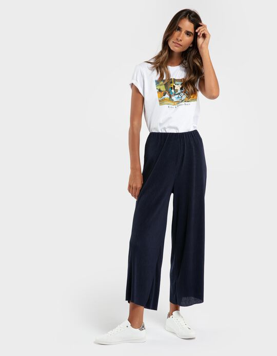 Pleated Trousers, for Women