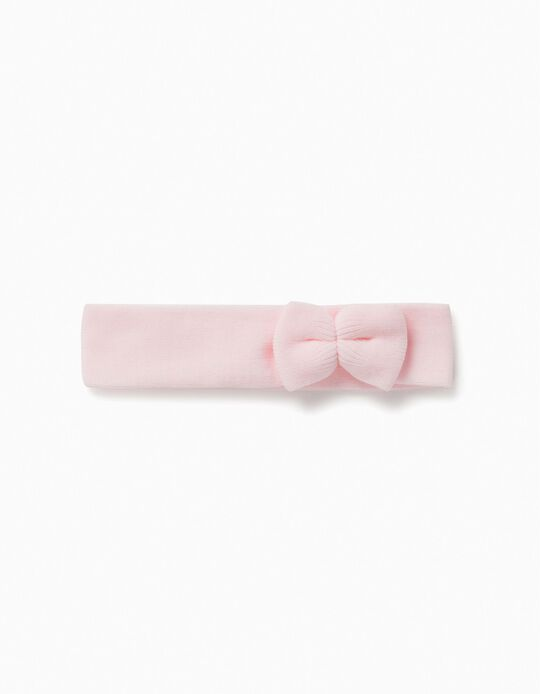 Hairband with Bow for Girls, Pink