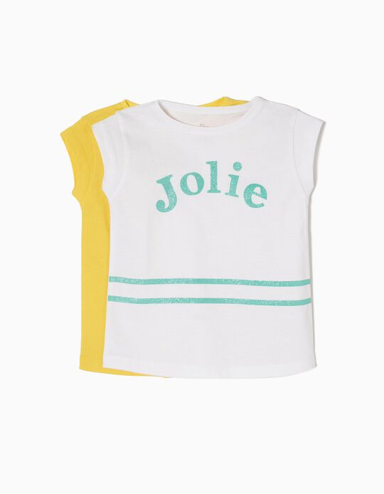 Pack 2 T-shirts Jolie