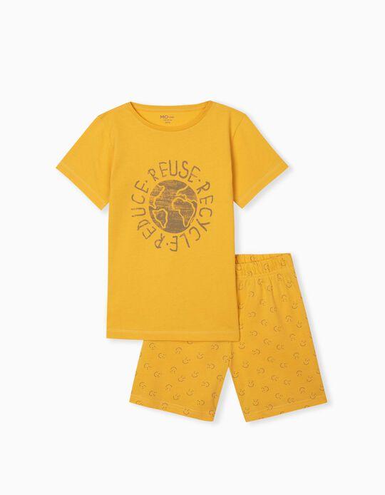 Pyjamas in Organic Cotton, Boys