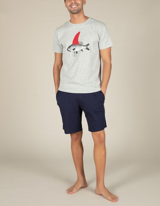 Conjunto de pijama peixe
