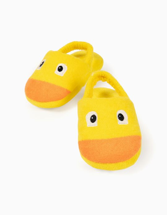 Slippers for Babies, 'Duck', Yellow