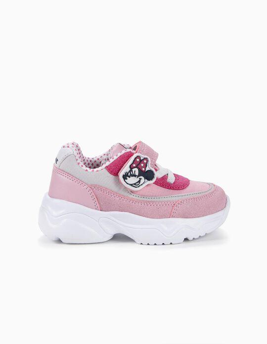 Sapatilhas para Bebé Menina 'Minnie', Rosa
