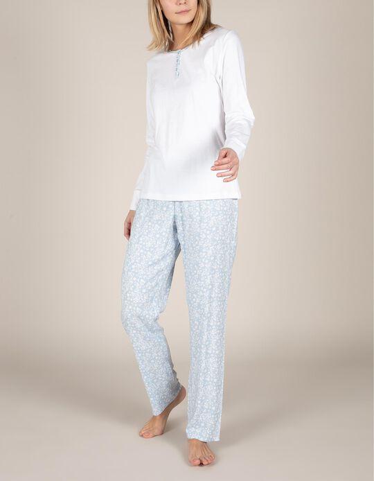 Conjunto de pijama flores