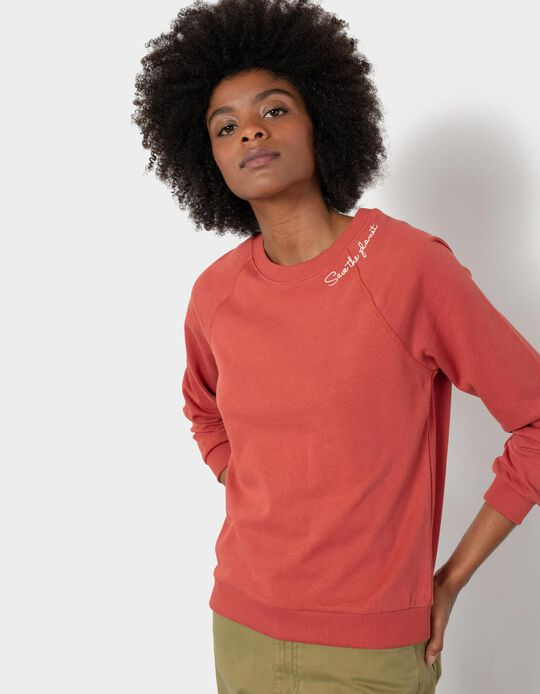 Organic Cotton Sweatshirt, Women