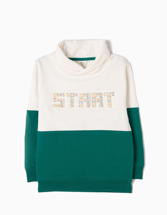 Two-Tone Sweatshirt, Start