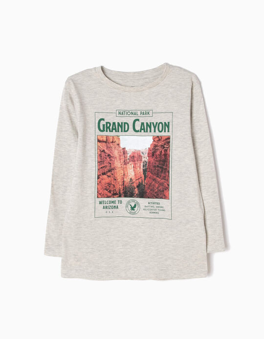 T-shirt Manga Comprida Grand Canyon
