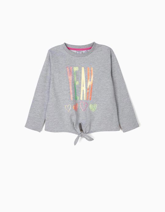 Sweatshirt com laço