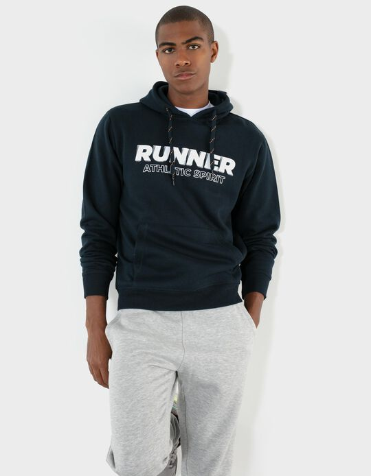 Hooded Sweatshirt, Runner