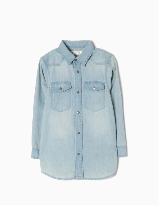 Camisa Ganga Light Blue