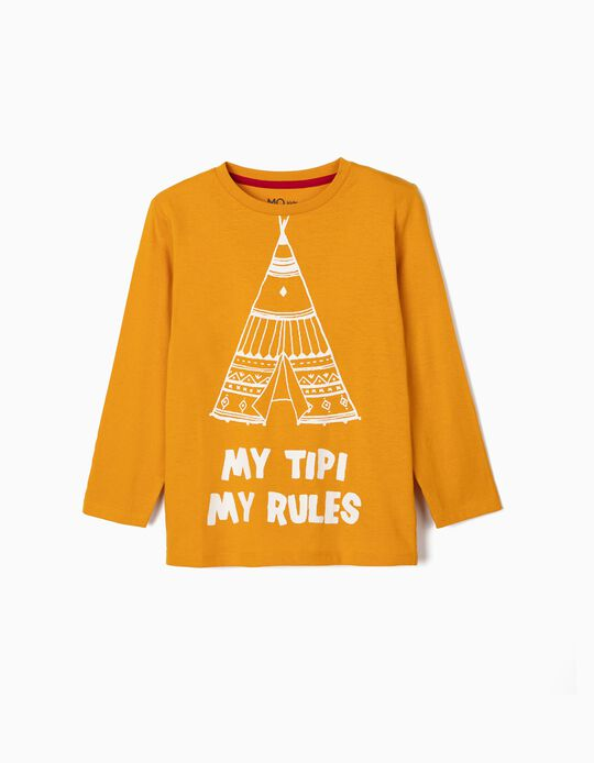 Long Sleeve Top, 'Tipi'