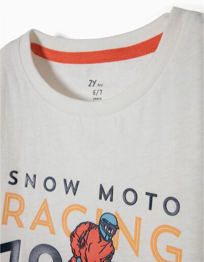 T-shirt Manga Comprida Moto Racing