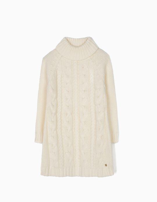 Vestido de Malha Branco