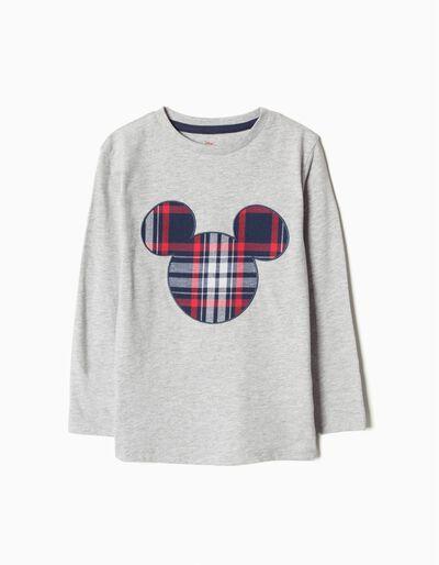 T-shirt Manga Comprida Mickey