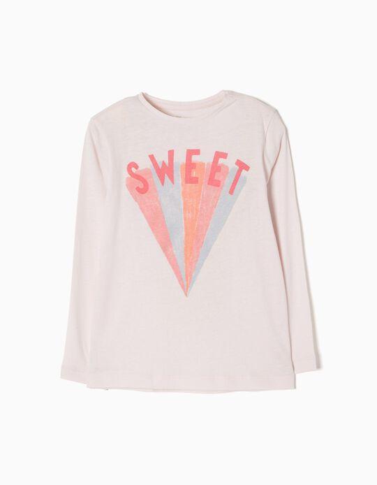 T-shirt Manga Comprida Sweet