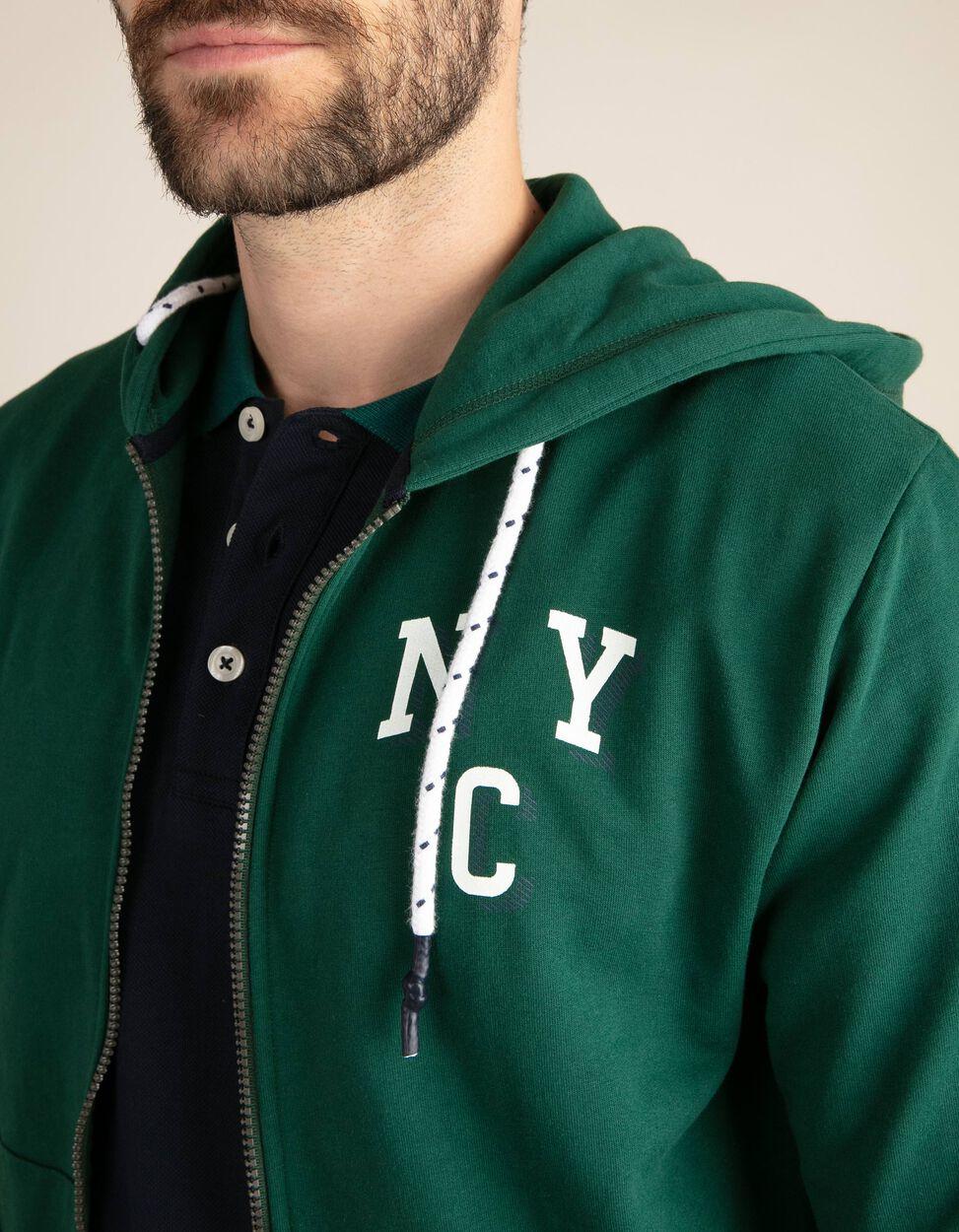 Casaco Com Capuz NYC