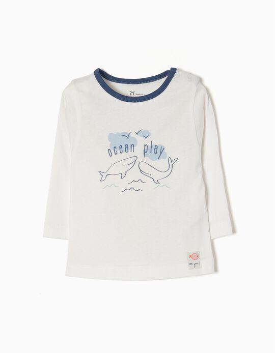 T-shirt Manga Comprida Ocean