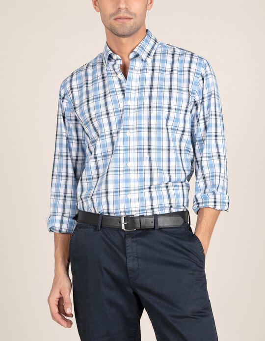 Camisa com Tartan