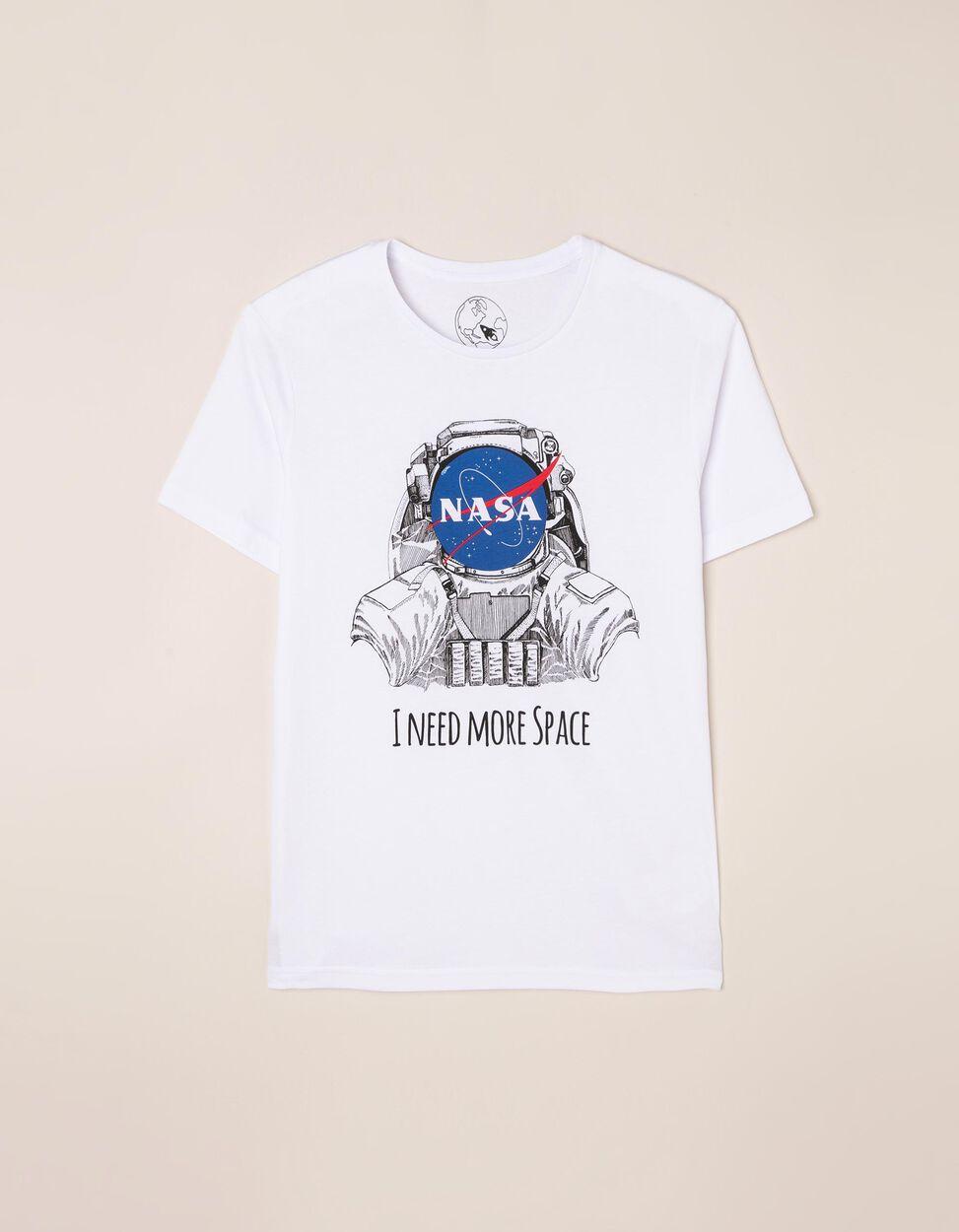 T-shirt lisa com estampado NASA