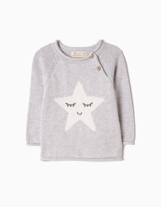 Knitted Jumper, Star