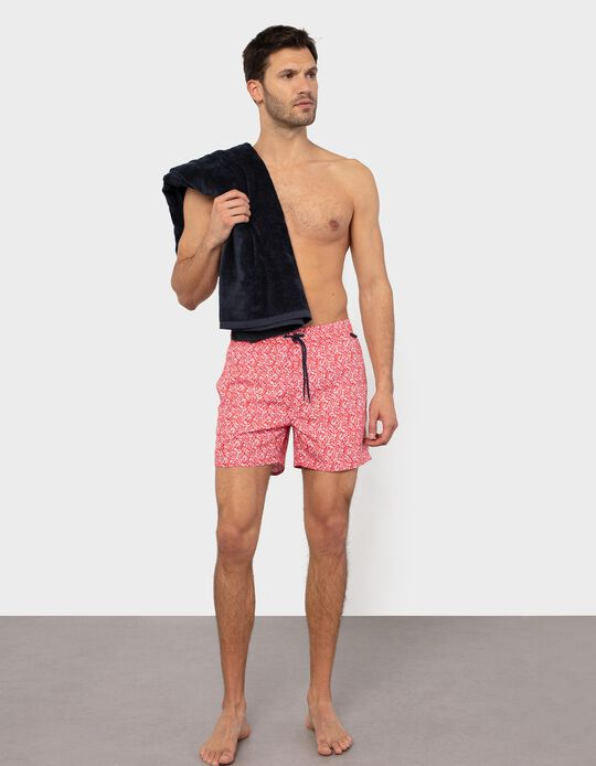 Floral Pattern Swim Shorts, for Men