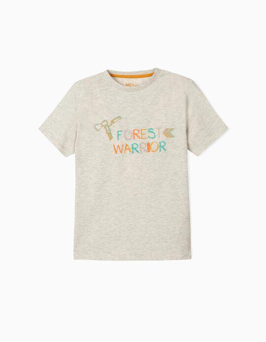 T-shirt 'Forest Warrior', para Menino