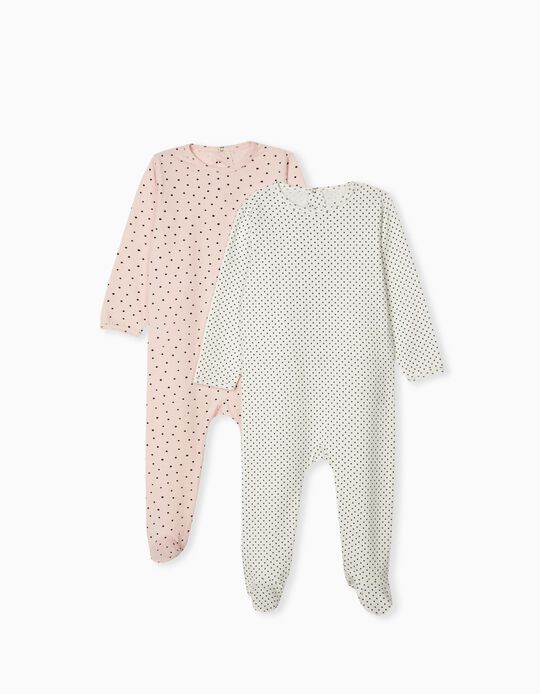 2 Sleepsuits for Baby Girls