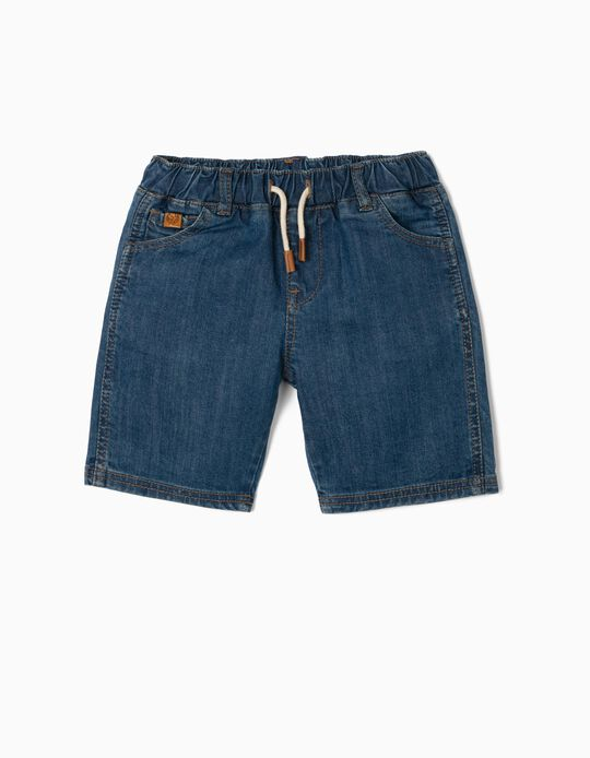Shorts in Sustainable Denim, Baby Boys