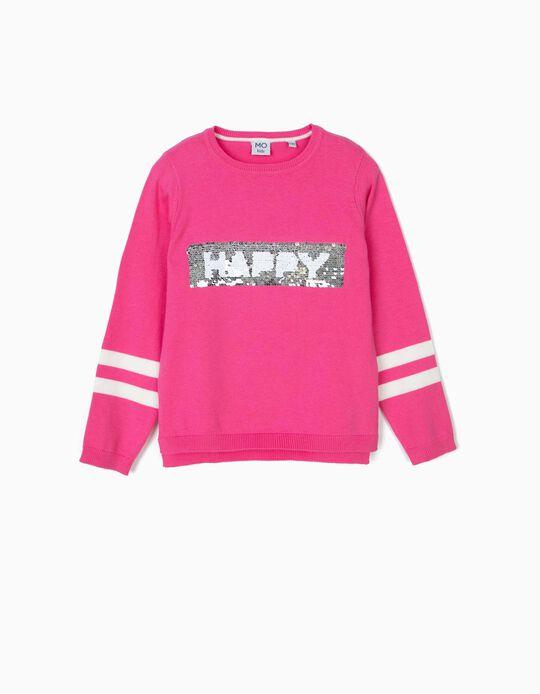 Camisola de malha happy