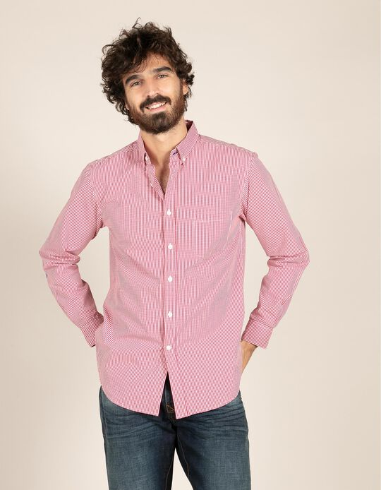Camisa slim fit vichy