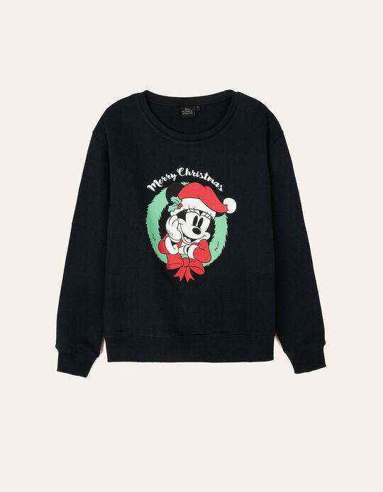 Sweatshirt natalícia da Minnie