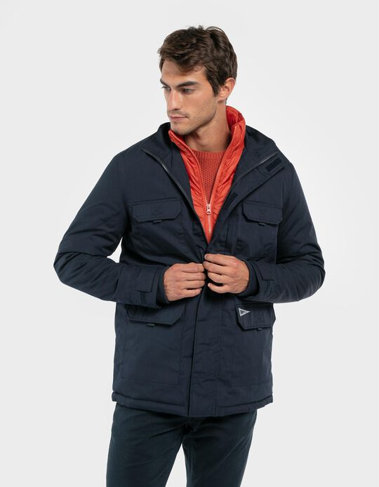 Anorak with Padded Lining
